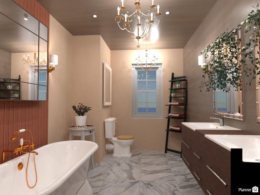 Classic Bathroom I Design Battle 4917382 by Arin image
