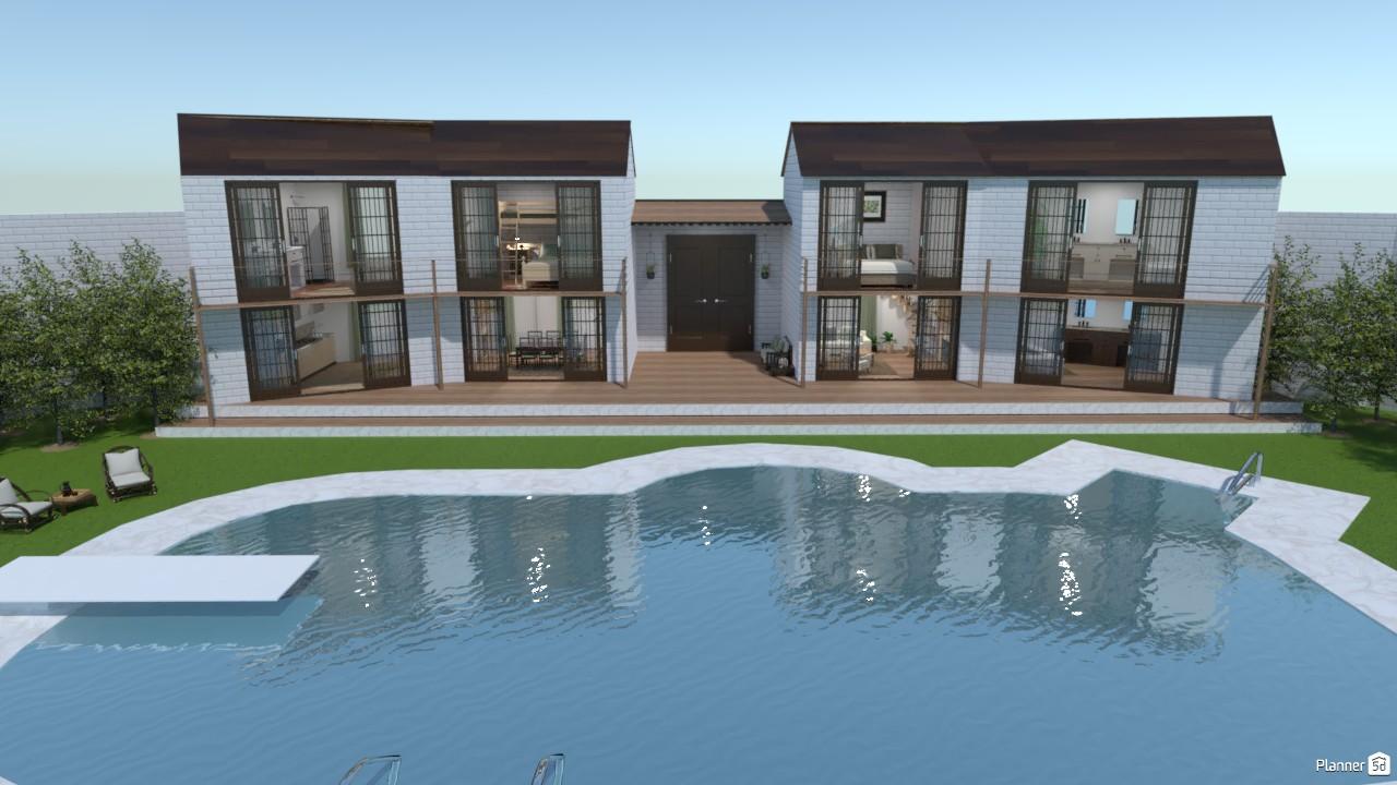 Casa con piscina. 3960893 by Hall Pat image