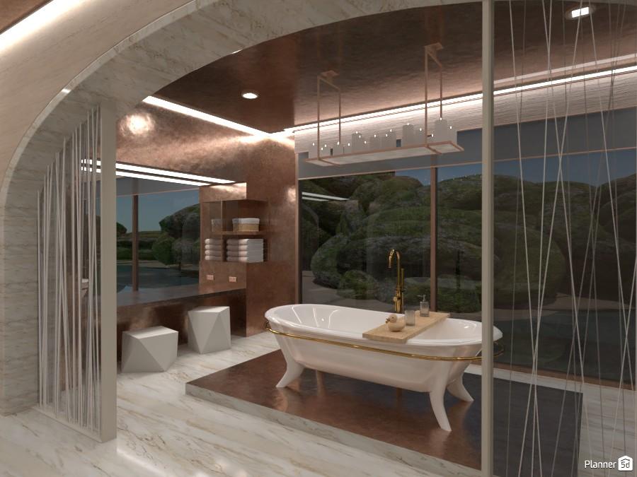 bathroom luxury hotel 87392 by LØU DERØИNE image
