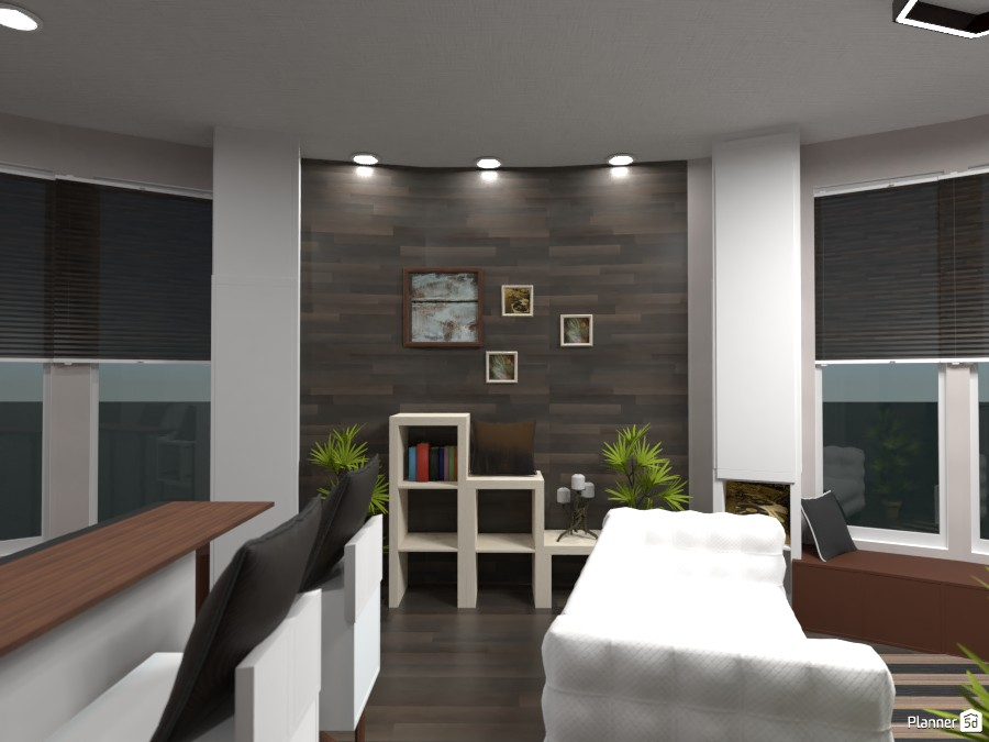 Round house withe modern interior 83355 by Gabes image