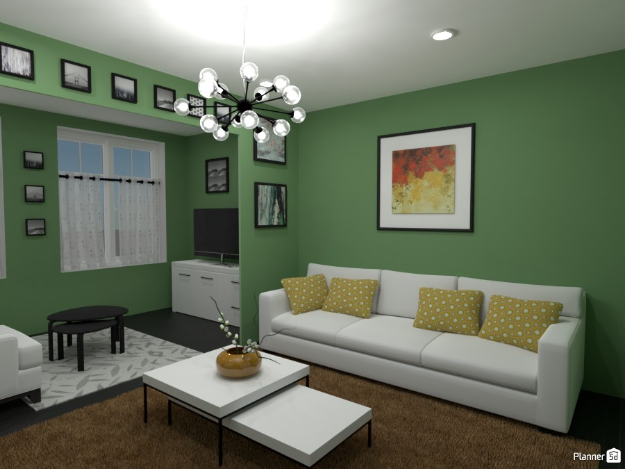 Contest: living room with paintings II 4570770 by Elena Z image