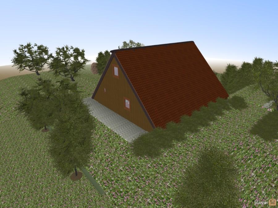 Nurdachhaus...Finnlandhütte 58224 by Siegfried Peter image
