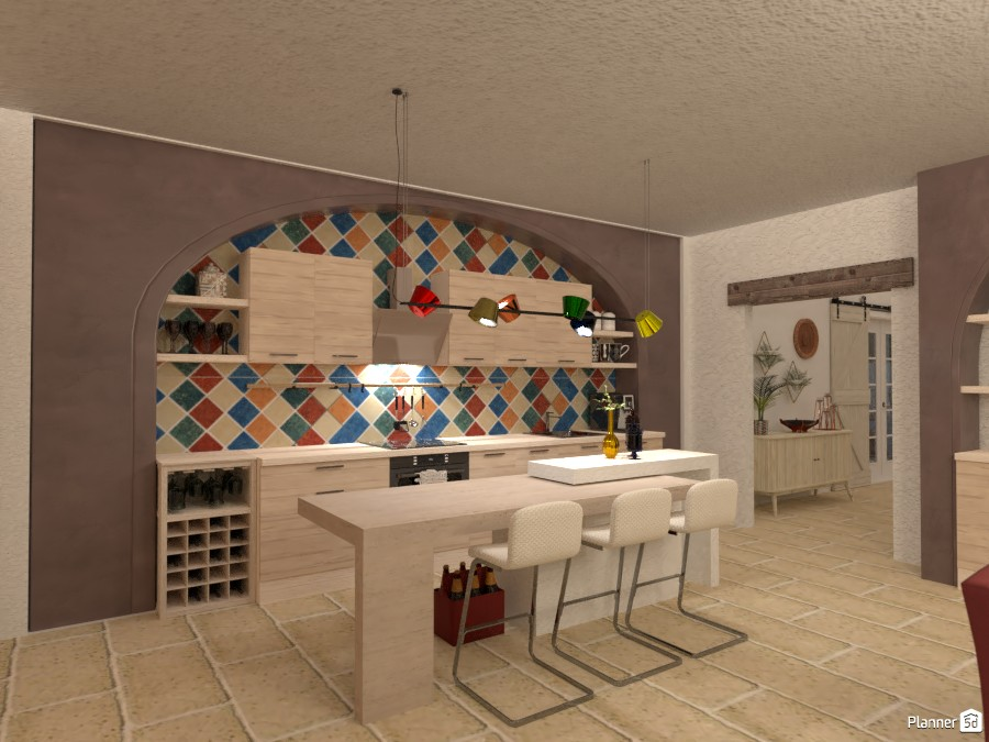 Villa sullo Jonio: Cucina 4621568 by Micaela Maccaferri image