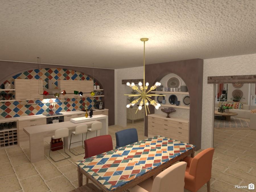 Villa sullo Jonio: Cucina + Pranzo 4621572 by Micaela Maccaferri image