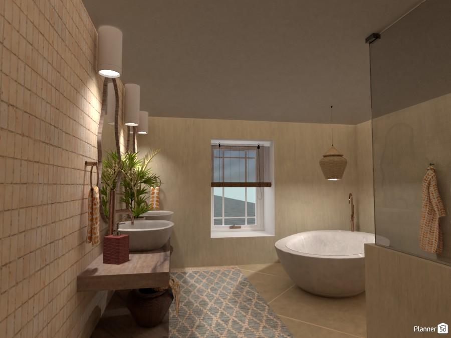 Villa sullo Jonio: bathtub 4622649 by Micaela Maccaferri image