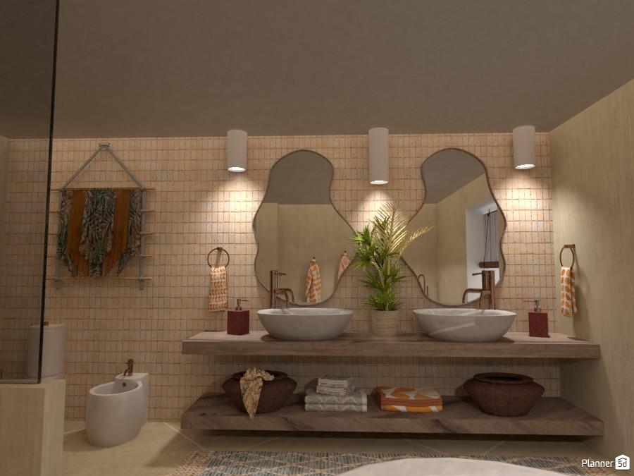 Villa sullo Jonio: Bathroom 4622669 by Micaela Maccaferri image