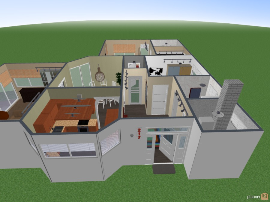 Bungalow - floor plan  No .: 217 63239 by Siegfried Peter image