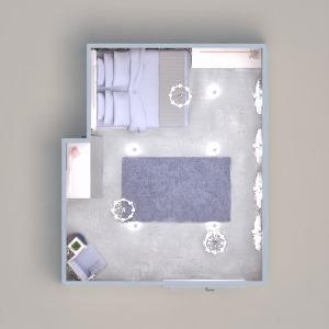 floorplans décoration chambre à coucher espace de rangement 3d