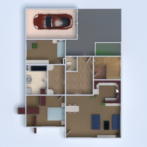 floorplans house furniture bathroom bedroom living room garage kitchen kids room 3d