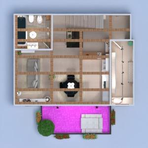 floorplans apartamento varanda inferior mobílias decoração banheiro quarto cozinha iluminação arquitetura despensa 3d