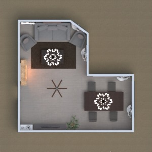 floorplans casa quarto escritório 3d