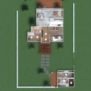 floorplans maison meubles salle de bains chambre à coucher salon cuisine extérieur eclairage paysage maison salle à manger architecture espace de rangement studio entrée 3d
