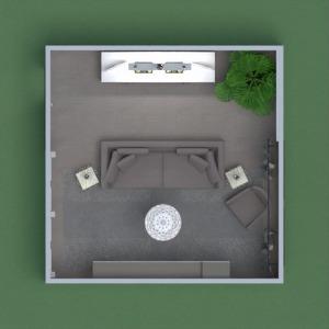 floorplans house furniture decor living room lighting 3d