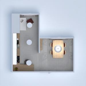 floorplans kuchnia biuro jadalnia 3d