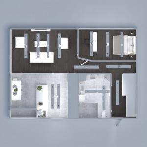 floorplans mieszkanie łazienka sypialnia pokój dzienny kuchnia oświetlenie przechowywanie mieszkanie typu studio wejście 3d