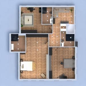 floorplans haus badezimmer küche architektur lagerraum, abstellraum 3d