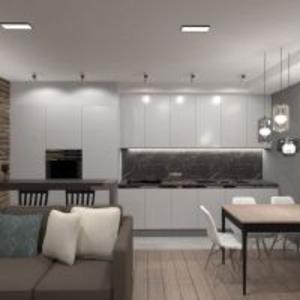 progetti appartamento arredamento decorazioni saggiorno cucina illuminazione rinnovo ripostiglio monolocale 3d