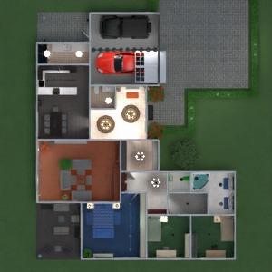 floorplans apartment house terrace bathroom bedroom living room garage kitchen outdoor kids room lighting dining room architecture 3d