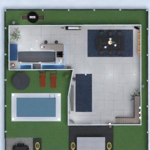floorplans casa banheiro quarto cozinha sala de jantar 3d