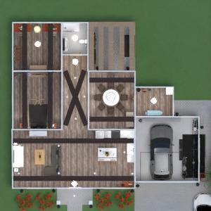 floorplans 独栋别墅 车库 3d