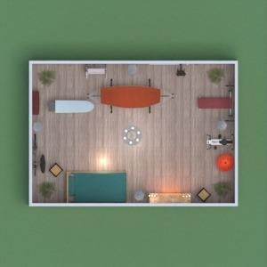 floorplans appartement chambre à coucher 3d