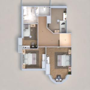 floorplans haus mobiliar badezimmer schlafzimmer wohnzimmer 3d