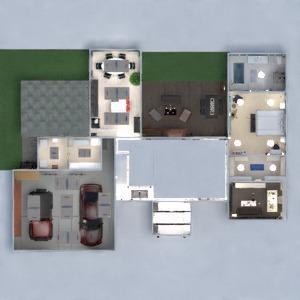 floorplans maison terrasse meubles décoration chambre à coucher salon garage cuisine chambre d'enfant eclairage rénovation espace de rangement 3d