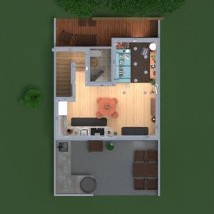planos apartamento casa decoración 3d