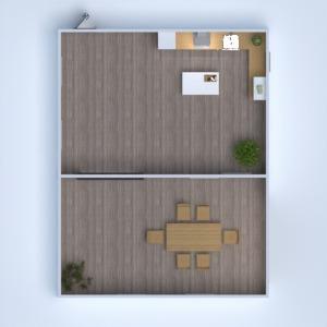 floorplans namas dekoras virtuvė namų apyvoka 3d