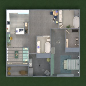 floorplans wohnung dekor beleuchtung 3d