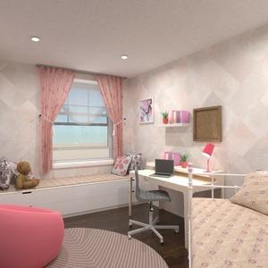 планировки мебель декор детская 3d