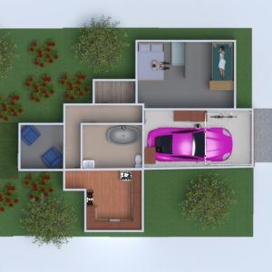 floorplans haus mobiliar badezimmer schlafzimmer 3d