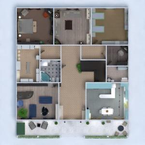 progetti casa cucina architettura 3d