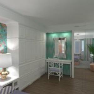 floorplans mieszkanie meble sypialnia 3d