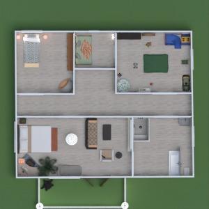 floorplans casa mobílias decoração iluminação 3d