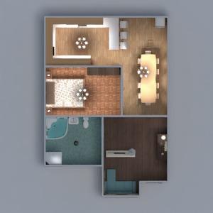 floorplans wohnung mobiliar dekor do-it-yourself badezimmer schlafzimmer wohnzimmer küche beleuchtung haushalt esszimmer architektur 3d