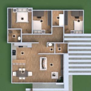 floorplans dom meble łazienka sypialnia pokój dzienny kuchnia remont jadalnia 3d