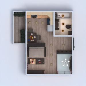 floorplans wohnung mobiliar dekor do-it-yourself badezimmer schlafzimmer wohnzimmer küche beleuchtung renovierung studio 3d