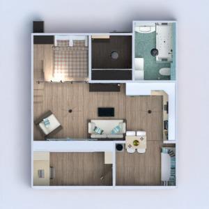 floorplans apartment furniture bathroom bedroom living room kitchen renovation studio entryway 3d