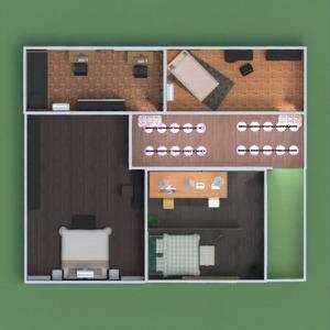 planos apartamento casa terraza muebles decoración bricolaje 3d