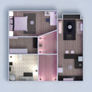 floorplans apartment furniture decor bathroom bedroom living room kitchen lighting studio 3d