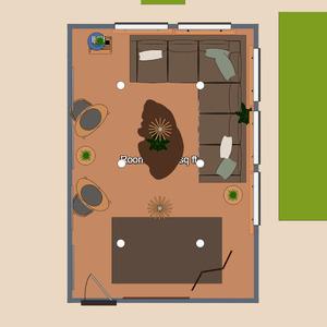 floorplans butas namas svetainė 3d