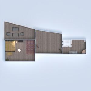 floorplans casa área externa iluminação arquitetura 3d