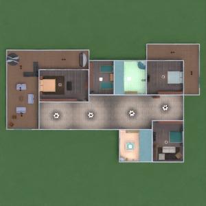 floorplans house furniture bathroom bedroom living room garage kitchen lighting dining room entryway 3d