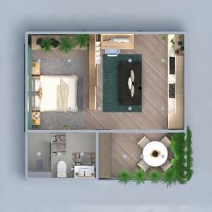 floorplans wohnung dekor küche beleuchtung studio 3d