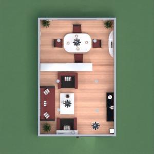 planos casa salón iluminación estudio descansillo 3d