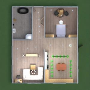 floorplans casa mobílias banheiro cozinha 3d