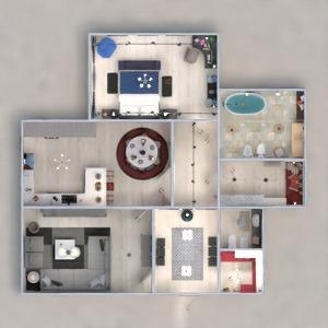 floorplans casa mobílias decoração faça você mesmo banheiro quarto quarto cozinha escritório iluminação reforma utensílios domésticos cafeterias sala de jantar arquitetura despensa patamar 3d