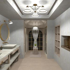 planos casa cuarto de baño dormitorio iluminación descansillo 3d