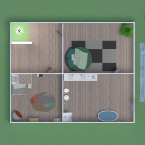 floorplans house garage landscape dining room 3d